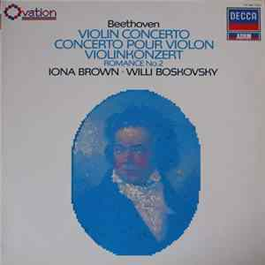 Beethoven, The Academy Of St. Martin-in-the-Fields, Sir Neville Marriner, Wiener Mozart Ensemble - Violin Concerto In D Major, Op. 62 / Romance No. 2 In F Major, Op. 30 Album