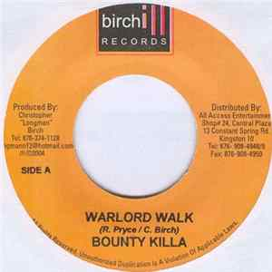 Bounty Killer - Warlord Walk Album