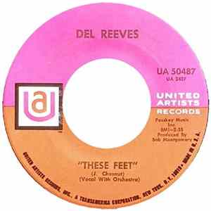 Del Reeves - These Feet Album