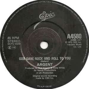 Argent - Hold Your Head Up / God Gave Rock And Roll To You Album